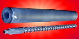 Șnecuri și cilindri de injecție și extrudare