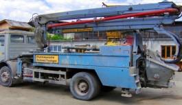 Reparație pompă beton